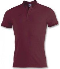 polo shirt korte mouw joma bali ii bordeaux m/c poloshirt (100748-650)