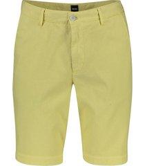 hugo boss slice shorts geel