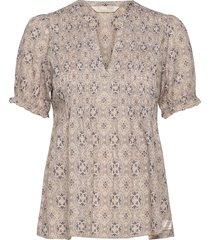 soul of sunshine blouse blouses short-sleeved beige odd molly