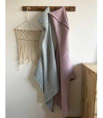 ręcznik z kapturkiem z bawełny wafel