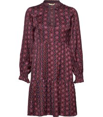 insanely right dress knälång klänning röd odd molly