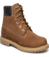 6in premium boot - w shoes boots ankle boots ankle boot - flat brun timberland