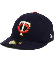 new era minnesota twins low profile ac performance 59fifty cap