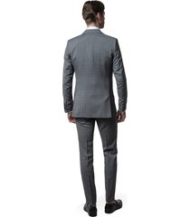 garnitur pirelli 315 szary slim fit