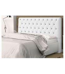 cabeceira casal 140 cm para cama box lady corino - ds móveis