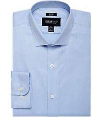 awearness kenneth cole light blue slim fit dress shirt