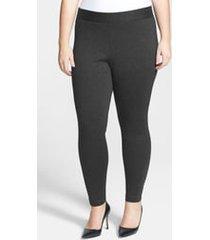 plus size women's vince camuto high rise leggings, size 2x - grey