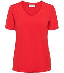 &co woman and co top levi coral v-hals