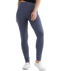 women's lucky brand lucky leggings, size xx-large - blue