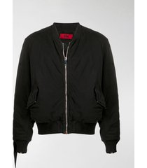 424 cut-out bomber jacket