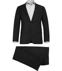 calvin klein x-fit slim fit men's suit black - size: 42 regular