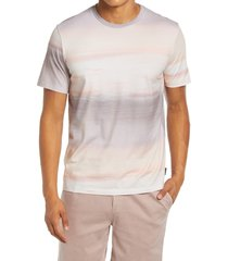 men's ag bryce slim fit graphic tee, size x-large - beige