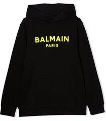 balmain sweatshirt with print