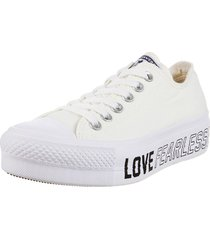 zapatilla blanca converse chuck taylor as lift ox