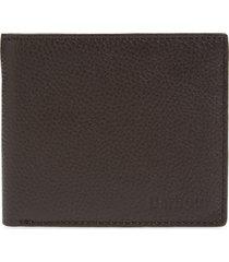 men's barbour amble leather rfid wallet -