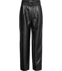 aria trousers leather leggings/broek zwart twist & tango