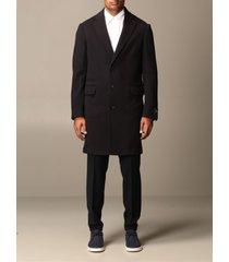 z zegna coat z zegna coat in single-breasted wool