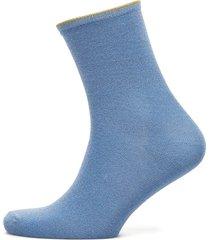 diana lingerie socks regular socks blå becksöndergaard
