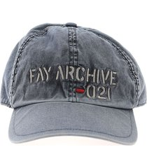 blue fay archive hat