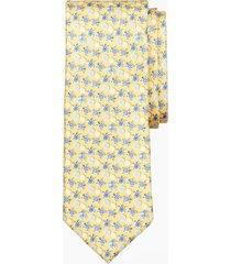 corbata fleece and sea turtle amarillo brooks brothers