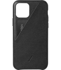 clic card iphone 11 pro case - black