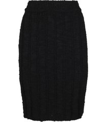 dolce & gabbana black virgin wool skirt