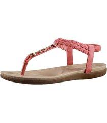 sandalia romana coral fagus