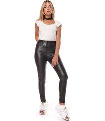 pantalón negro vov jeans engomado