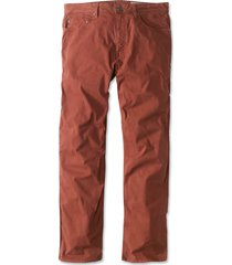 5-pocket stretch twill pants, henna, 40, inseam: 34 inch