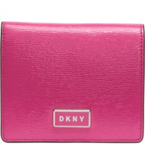 dkny gigi leather flat wallet, created for macy's