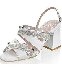 sandaletter alba moda vit