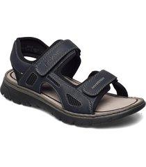 26761-14 shoes summer shoes sandals blå rieker