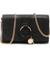 see by chloé hana long wallet chain mini bag