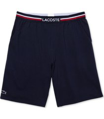 lacoste men's stretch pajama shorts
