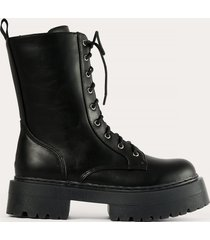 na-kd shoes boots - black