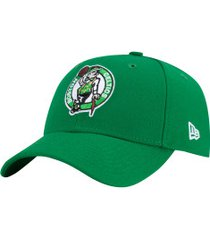 boné aba curva new era 940 boston celtics team color - snapback - adulto - verde