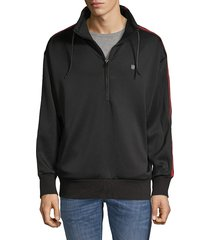 cult of individuality men's drawstring logo jacket - black - size xxl