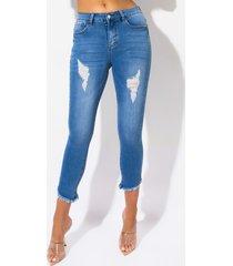 akira hermosa mid rise skinny jeans