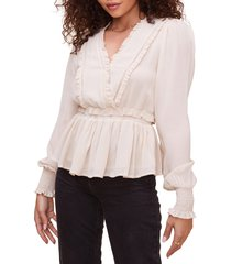 women's astr the label avril peplum blouse