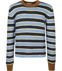 lanvin stripe sweater