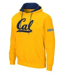 colosseum california golden bears men's big logo hoodie