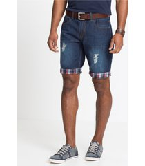 jeans bermuda loose fit