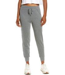 women's madewell mwl breeze drawstring pants, size small - grey