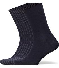 decoy socks org.cotton 7pk underwear socks regular socks blå decoy