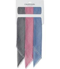 calvin klein 3-pk. chambray bandanas