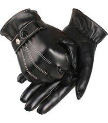 guantes hombre invierno-negro