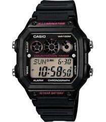 reloj ae-1300wh1a2 casio negro