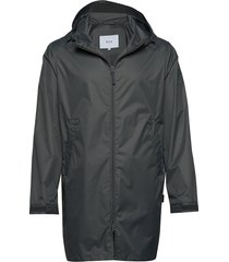 gust jacket regenkleding zwart makia