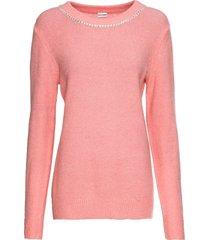 maglione con strass (rosa) - bodyflirt