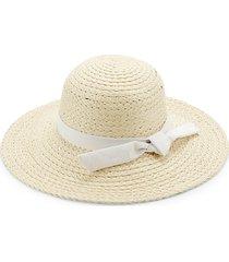 ribbon-trim straw hat
